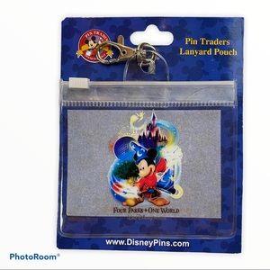 New Walt Disney World Pin Traders Lanyard Parks